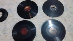 Kit com 40 discos de 78 rpm