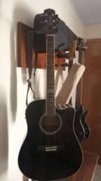 Excelente violão aço