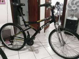 Vendo  Bicicleta Aro 26  Caloi Andes com Suspensão