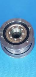 2 Polias de compressor denso 6c500 com rolamento e sem magneto