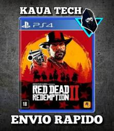 Game Ps4 Read Dead Redemption 2 Original Midia física Envio Para todo o Brasil E Piaui