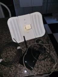 Antena via radio