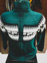 Blusa Peruana - Peça Linda - Nova!! Super Estilosa! Cor verde profundo