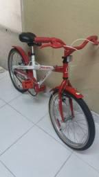 Bicicleta Caloi aro 20 Hello Kitty *