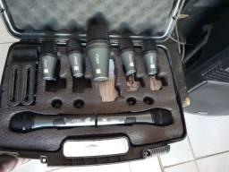 Kit Microfone bateria Arcano