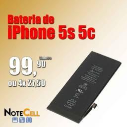 Título do anúncio: Bateria de iPhone 5s 5c Já Instalado!!!