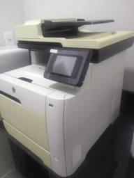 Copiadora impressora digitalizadora laser Color HP Pro400 475dn