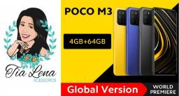 Poco M3 4gb+64gb - Versão Global - Amarelo