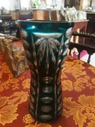 Antigo vaso em cristal overlay jpgyn