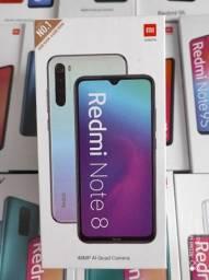 Saldão 2020! Xiaomi REDMI Note 8 ... NOVO lacrado Garantia e entrega hj