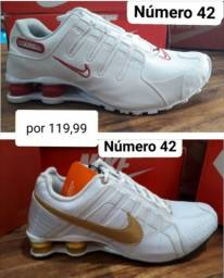 Tênis Nike shox número 42 !!!