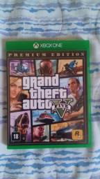 GTA V -Xbox one Novo