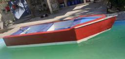 Barco de fibra troco caiaque duplo