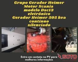 Gerador 505 kva Scania