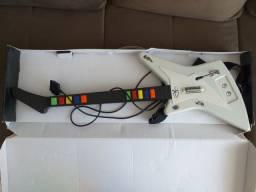 Guitarra para ps2 Muito bem cuidado