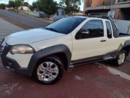 Fiat strada adv locker ce 2012 km 113.800 troco por sandero2018a2020