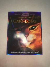 DVD Blu-ray 3D O Gato de Botas