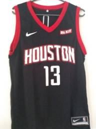 Camisas do Rockets (preta)