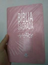 Bíblia Slim rosa