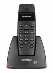 Telefone Intelbras TS40 Preto Sem Fio DECT 6.0