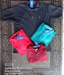 Polo  Um kit 3  90$ tamaho GG