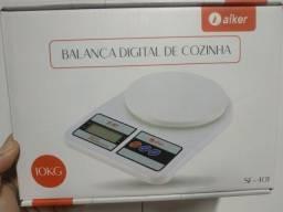 Balança digital cozinha até 10kg nova na caixa