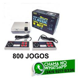 Video Game Retrô 800 Jogos 2 Controles