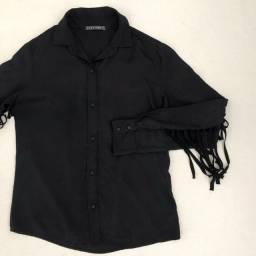 Camisa Bobstore com franjas