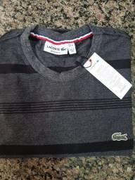 Camiseta listrada da LACOSTE (originais)