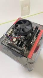 Placa Mãe Intel H61 3 geração  + core i3 3220