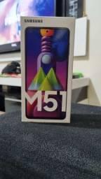 M51 com capa top aceito cartão
