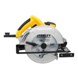Serra Circular 7. 1/4'' Com Disco 127V 1600W Stanley SC16-BR
