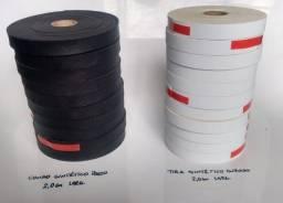 Tiras alças sob medida couro ecológico tecido várias cores texturas medidas