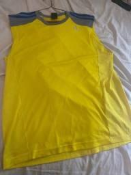 Camiseta Adidas Amarela Climacool Original
