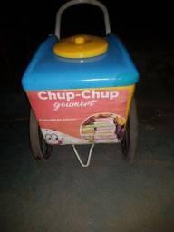 Contrato vendendor de Chup chup gourmet com Nutella