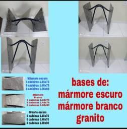 TAMPO E BASE DE MÁRMORE