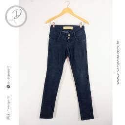 Calça Jeans Azul Escuro Dois Botões da Damyller - Tam.36 (Veste 36/38)