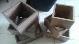 Kits de nichos decrecentes madeirados