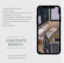 Assistente Virtual Remota