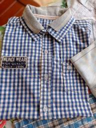 Vendo lindo lote de roupas menino usado somente na igreja