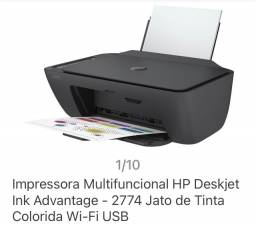 Vendo impressora nova hp multifuncional .