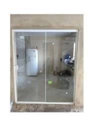 Porta de vidro 2.00 x 1.90