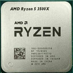 Processador gamer AMD Ryzen 5 3500X 6 núcleos e 3.6GHz de frequência- NOVO