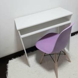 Mega Promoção!!! Escrivaninha branca + cadeira