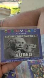 Adesivo para cartões - seja revendedor