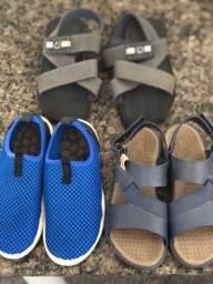 Combo de calçados  para menino