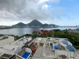 Apartamento com 2 dormitórios para alugar, 84 m² por R$ 5.300,00/mês - Lagoa - Rio de Jane