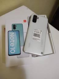 """Xiaomi Redmi Note 10 Com 6.43"""" polegadas, 4GB de RAM aceito cartão de crédito.(TROCO)"""