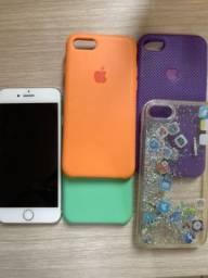 Iphone 8 64gb - Prata *Apenas Venda
