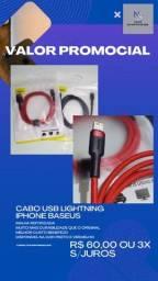 Cabo usb lightning iPhone Baseus